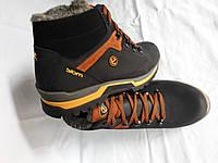 Кожаные мужские ботинки Ecco Siom
