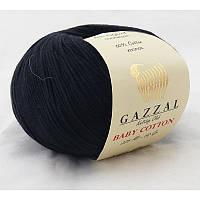 Gazzal Baby Cotton №3433 черный