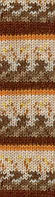 Alize Motif №1647 бежево-терракотово-коричневый