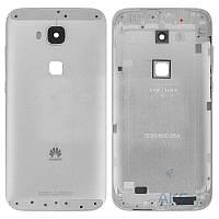 Задняя часть корпуса (крышка аккумулятора) Huawei G8 (RIO-L01) Silver