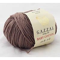Gazzal Baby Cotton №3434 какао