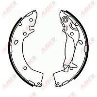 Тормозные колодки задние Hyundai Getz (бараб.)