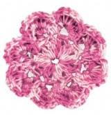 Alize Miss Melange №50870 ярко-розовый