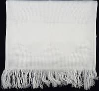 Рушник для вышивания белый (зигзаг), длина 180см
