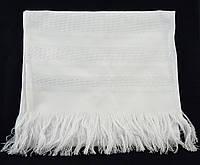 Рушник для вышивания белый, длина 220см