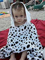 Дитячий махровий рушник Долматинец 101 Dalmatians Hooded Towel for Kids - Personalizable, фото 1