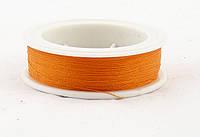 Нитка бисерная (цвет: оранжевый)