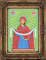 Схема иконы для вышивки бисером - Покров Пресвятой Богородицы, Арт. ИБ5-51