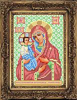 Схема иконы для вышивки бисером - Образ Пресвятой Богородицы - Троеручица, Арт. ИБ5-95