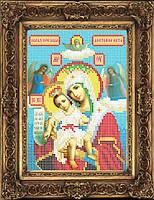 Схема иконы для вышивки бисером - Образ Пресвятой Богородицы Достойно Есть, Арт. ИБ5-106