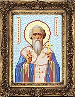 Схема иконы для вышивки бисером - Константин Святой Митрополит, Арт. ИБ4-61