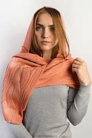 Ажурный акриловый шарф