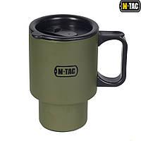 M-TAC термокружка 450 мл с крышкой олива