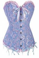Женский классический корсет жаккард, разные размеры и цвета.