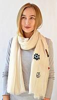 Легкий вискозный шарф
