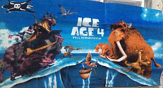 Пляжне рушник дитяче Ice age 4