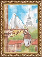 Схема для полной вышивки бисером - Любовь в Париже, Арт. ПБп3-19