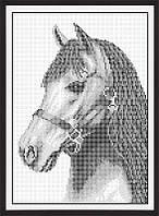 Схема для полной вышивки бисером - Лошадь, Арт. ЖБп4-3-2