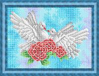 Схема для полной вышивки бисером - Верность, Арт. ЖБп4-14