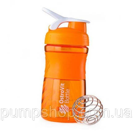 Пляшка OstroVit Blender Bottle 500 мл помаранчевий, фото 2