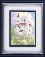 Схема для полной вышивки бисером - Замок на горе, Арт. ПБп4-1