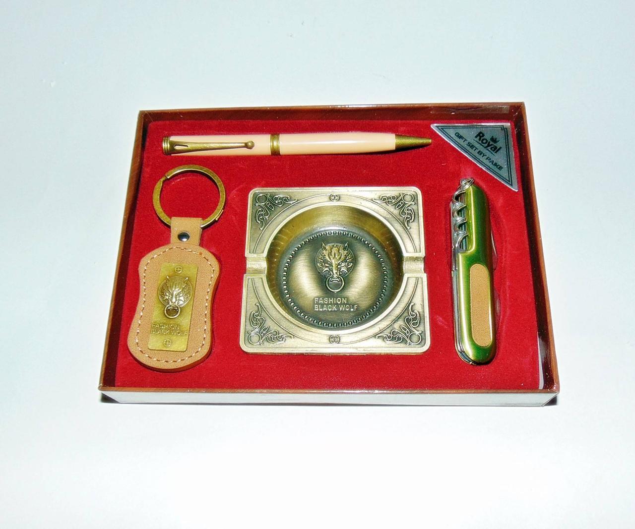 Сувенирный подарочный набор для мужчин Волк