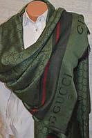 Палантин Gucci (Гуччи) зеленый