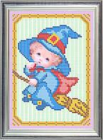 Схема для частичной вышивки бисером - Детская вышивка - хэллоуин, Арт. ДБч5-24