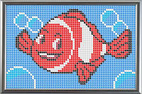 Схема для полной вышивки бисером - Рыбка, Арт. ДБп6-3