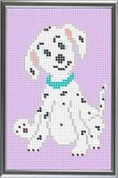 Схема для полной вышивки бисером - Собачка далматинец, Арт. ДБп6-5