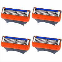 Лезвия для бритья Gillette Fusion цена
