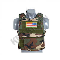 Жилет PT Tactical Body Armor US Woodland ||M51611014-WL