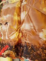 Теплое одеяло из овечьей шерсти 200*220. Атлас. Цвета разные.
