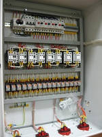 Шкафы электрические управления асинхронными электродвигателями по индивидуальным схемам