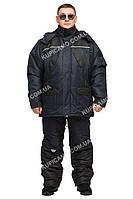 """Непромокаемый костюм для зимней рыбалки и охоты """"Турист"""" синий размер 60-62"""