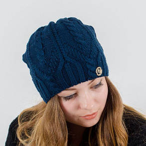 "Вязаная женская шапка ""Liana"", фото 2"