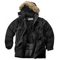 Куртка Аляска N3B - чёрная||KU-N3B-PO-01