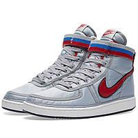 Оригинальные кроссовки Nike Vandal High Supreme QS Metallic Silver