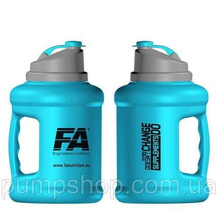 Бутылка для воды Nuclear Gallon Hydrator - 2,2 л голубая, фото 2