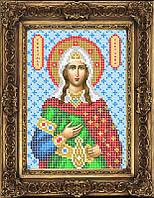 Схема иконы для вышивки бисером - Светлана (Фотина Святая Мученица, Арт. ИБ5-30-1
