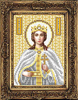 Схема иконы для вышивки бисером - Екатерина Святая Великомученица, Арт. ИБ5-23-2
