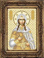 Схема иконы для вышивки бисером - Светлана Святая Великомученица, Арт. ИБ4-19-2