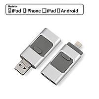 Usb флэш-накопитель Easy Flash 64gb для iPhone 5/5S/5C/6/6 S Plus/7/ Ipad/Android, фото 1