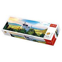 Пазлы 29028  Trefl, Замок Нойшванштайн, 97-34см, 1000дет
