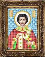 Схема иконы для вышивки бисером - Степан (Стефан) Святой Мученик, Арт. ИБ5-117-1