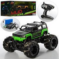 """Внедороник 4x4 """"Mud Off-Road"""" на управлении, резиновые колеса 333-MUD13B"""