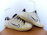 Кроссовки детские Nike 100% Оригинал р-р 35,5 (22,5см)  (б/у,сток) белые найк, фото 1