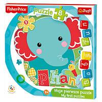 "Пазл ""Baby Fun"" - Little elephant / Mattel Fisher Price, 36119"