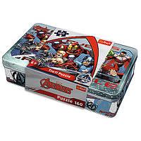 """Пазл """"160 Tinbox"""" - Heroes / Disney Marvel The Avengers, 53011"""