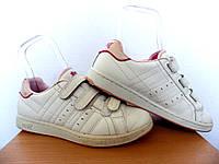 Кроссовки Lonsdale 100% ОРИГИНАЛ р-р 38 (23,5см) (Б/У, СТОК) nike adidas белые кожаные